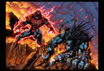 Red vs Lobo page 4 and 5