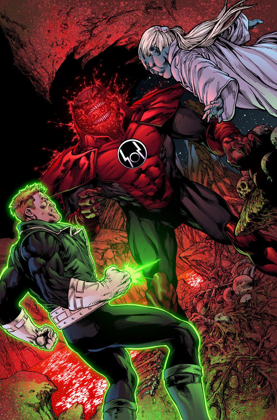 Green Lantern Corps 48 page 2 by xXNightblade08Xx