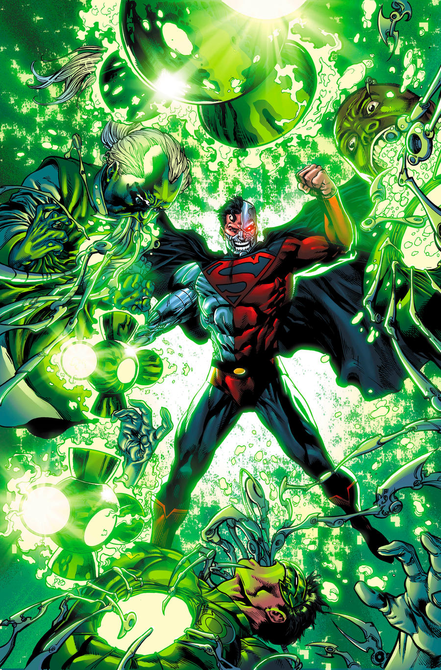 Green Lantern Corps 50 by xXNightblade08Xx