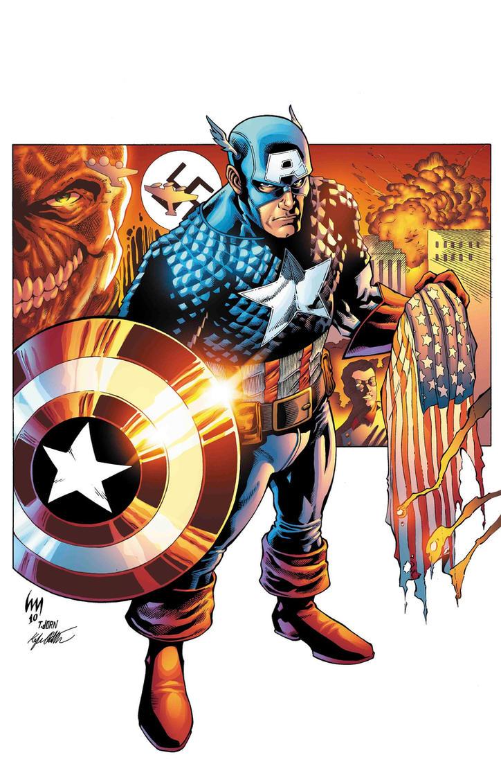Captain America by xXNightblade08Xx
