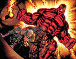 Red Hulk Double Page