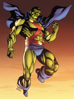 Martian Manhunter by xXNightblade08Xx