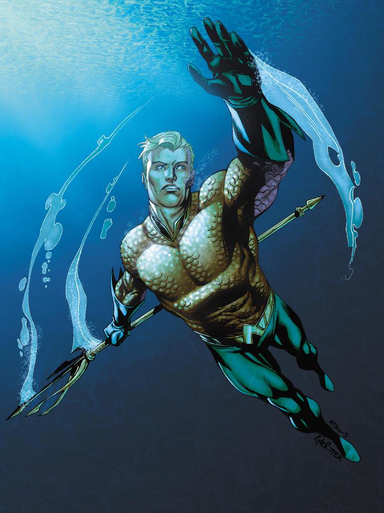 Aquaman by xXNightblade08Xx