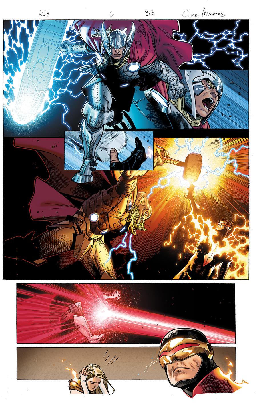 Avengers vs X-Men 6 pg 33 by xXNightblade08Xx