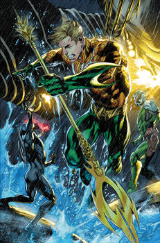 Aquaman sample page one