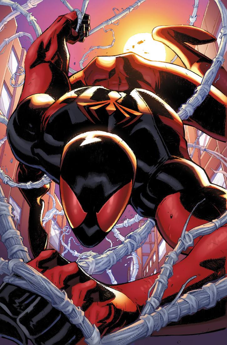 Scarlet Spider 6 by xXNightblade08Xx