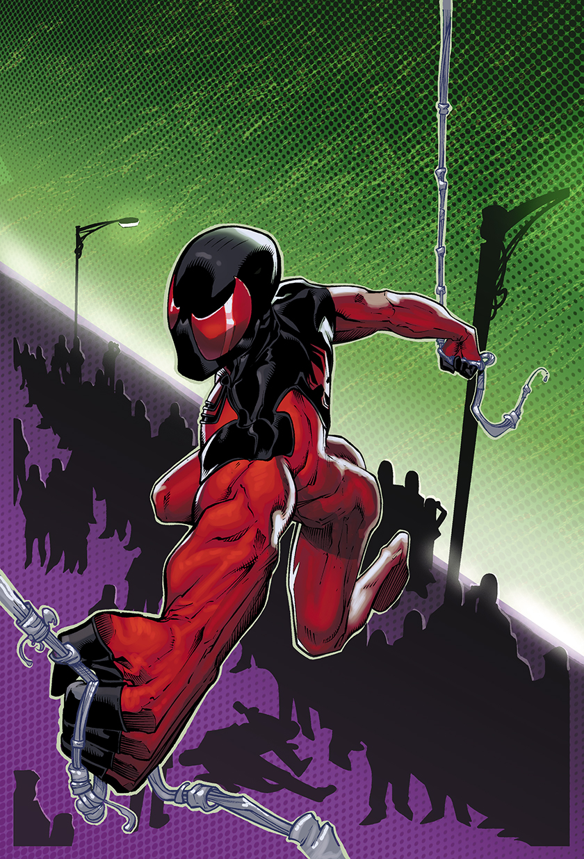 Scarlet Spider Pin Up by xXNightblade08Xx