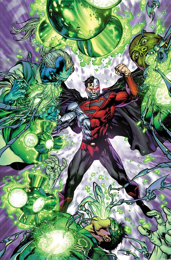 Green Lantern Corps #50 by xXNightblade08Xx