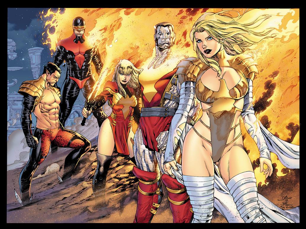 Phoenix Five by xXNightblade08Xx