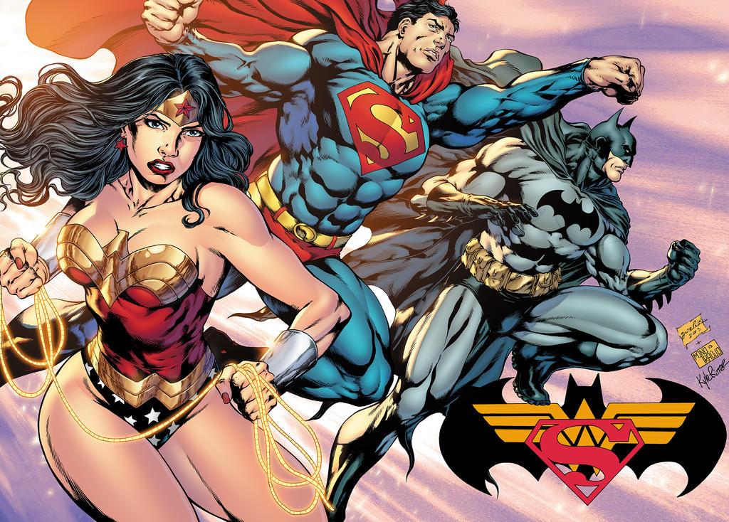 DC Trinity by xXNightblade08Xx
