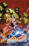Hulk vs Thor!