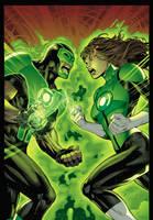 Green Lanterns by xXNightblade08Xx