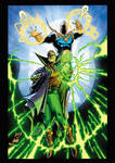 Doctor Fate and Green Lantern