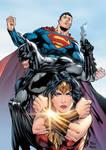 Batman, Superman and Wonder Woman