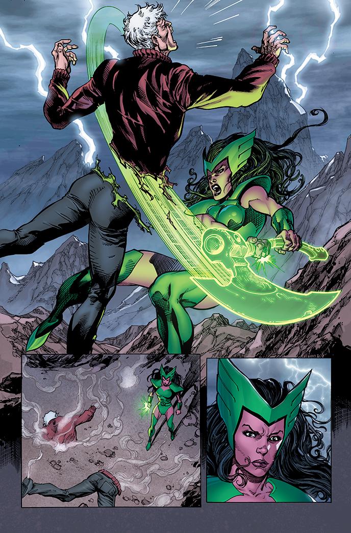 Green Lantern Corps page by xXNightblade08Xx