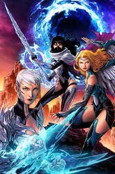 Women of STARBLADES cover