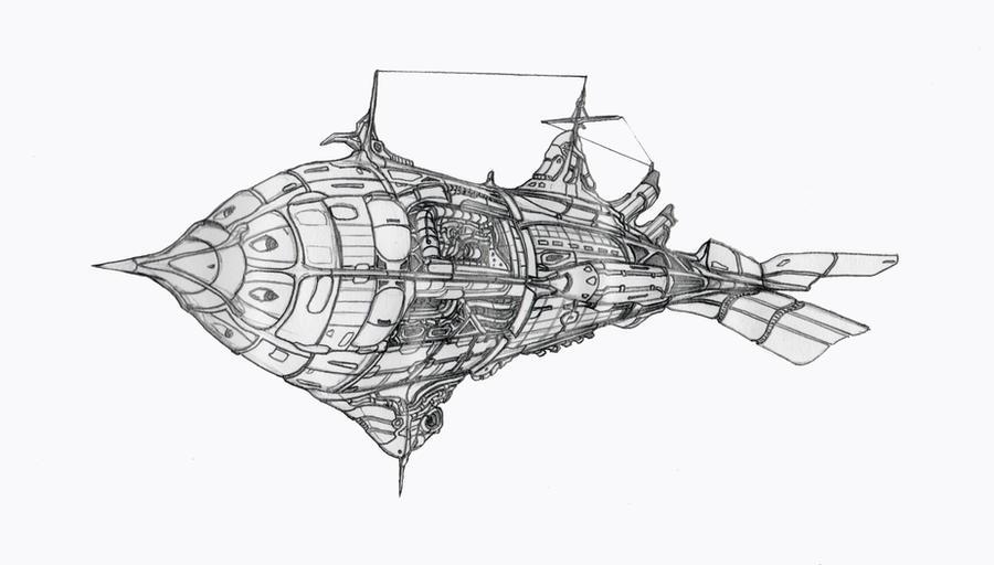Torpedo Boat (WIP) by ShadowHyperreal