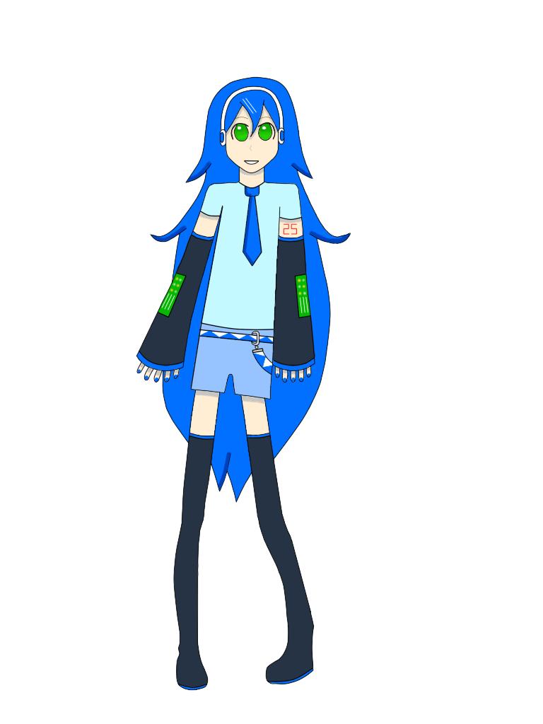Mi UTAU ^^ by Gumi-Vocaloid-Fan