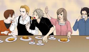 Hetalia: lunch...