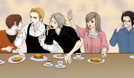 Hetalia: lunch... by Deidii