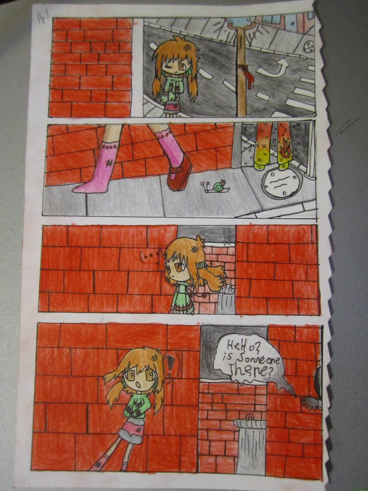 Dream Gate: Chapter 1 - Page 1 by SuperMapleGirl
