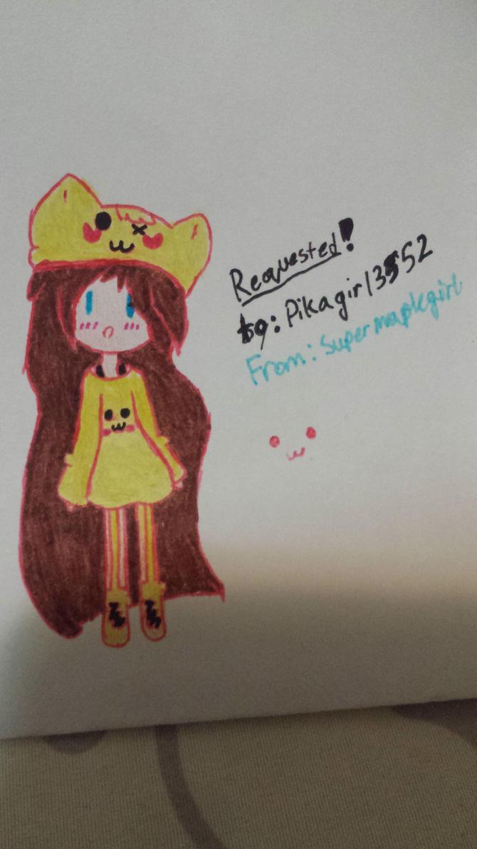 Request by: pikagirl13552 by SuperMapleGirl