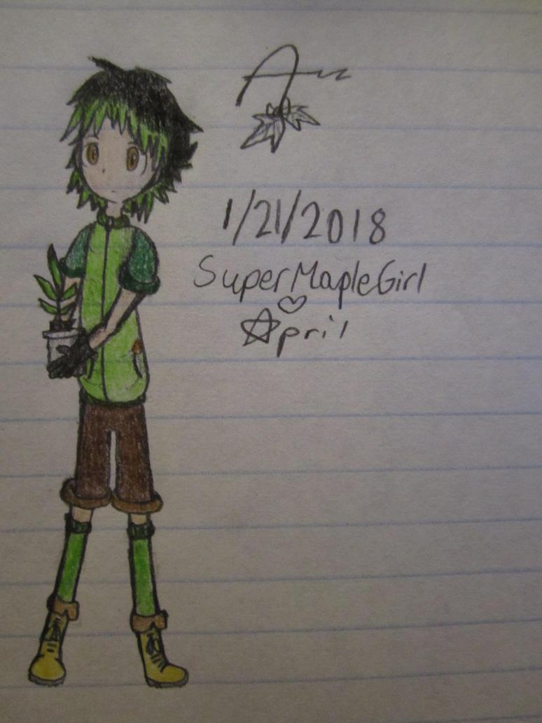 A (coloured ver.) by SuperMapleGirl