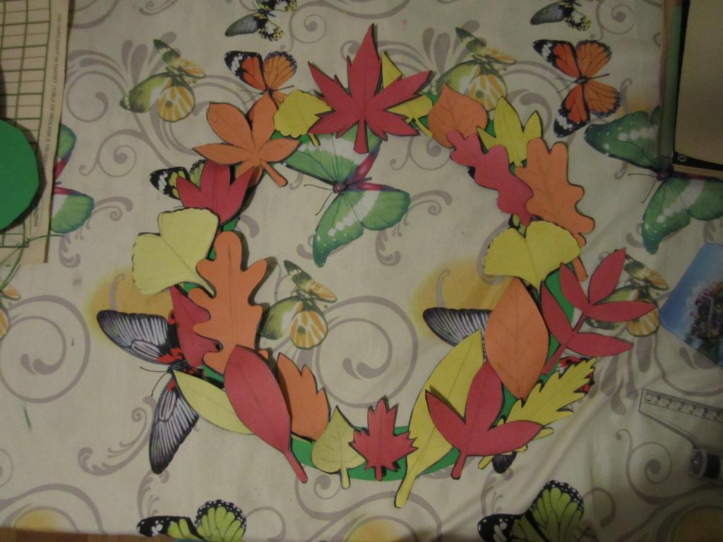 Unfinished leaf reef pt1 by SuperMapleGirl