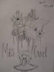 Sketchbook adventure 2019 #8: Miss Cavel by SuperMapleGirl