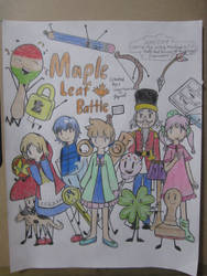 Maple Leaf Battle cover