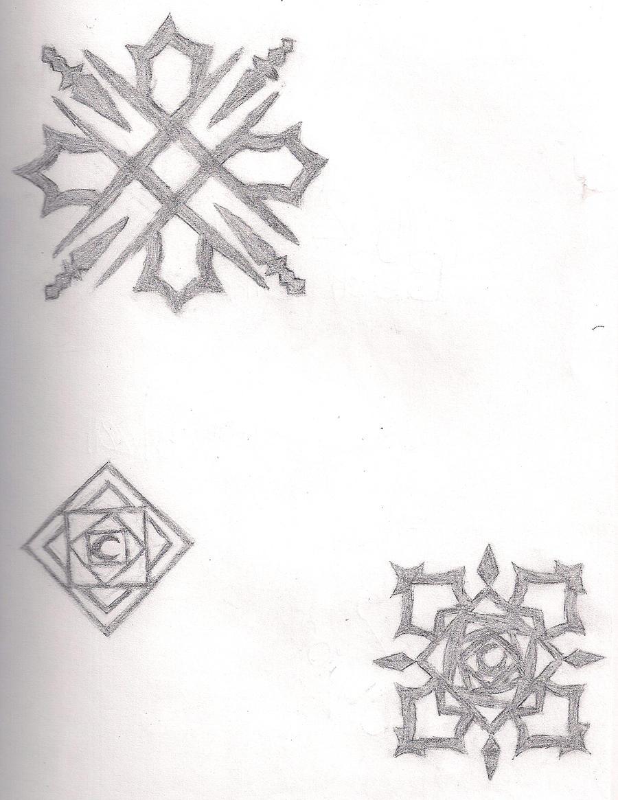 vampire knight symbols by andyx6ximpact on deviantart