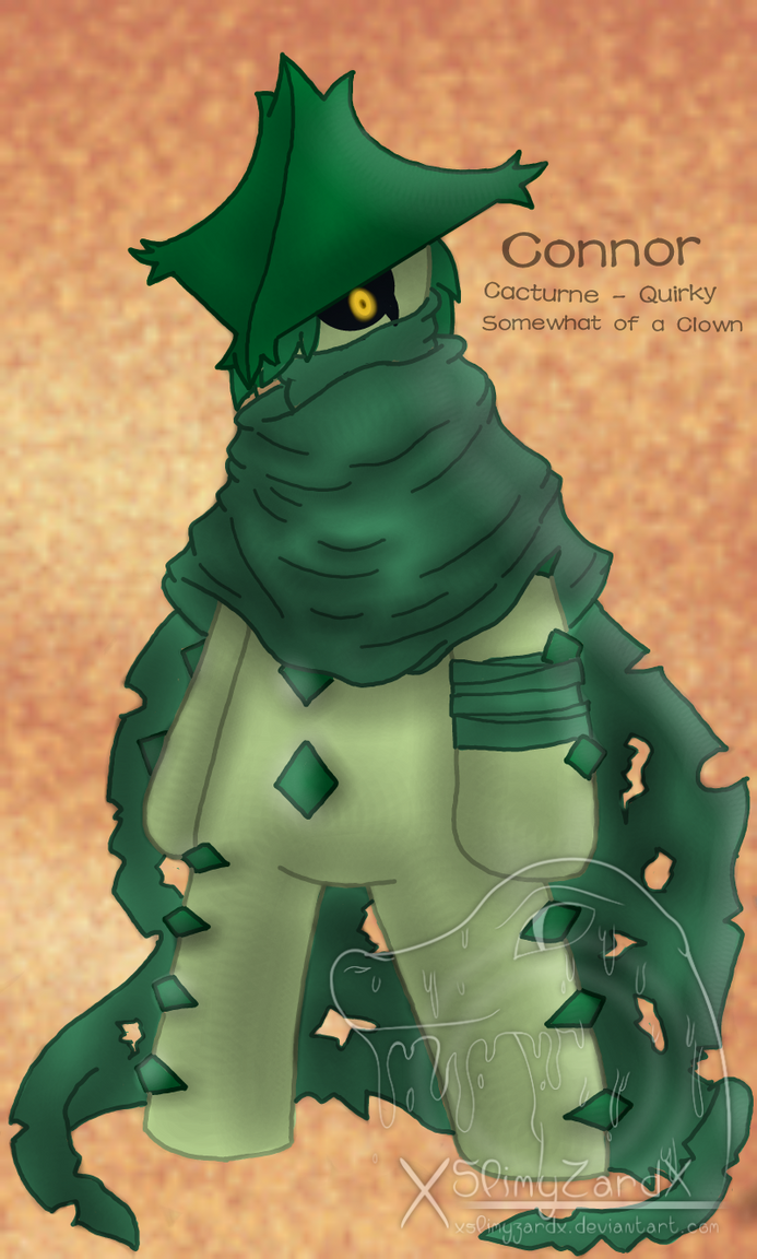 Connor the Cacturne (Masked + extra clothing) by ...