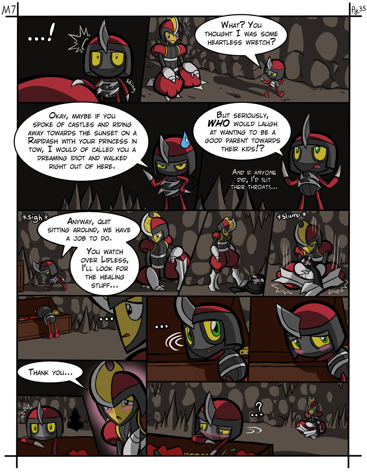 Mission 7: Of Knights and Pawns - Page 35 by Amy-the-Jigglypuff