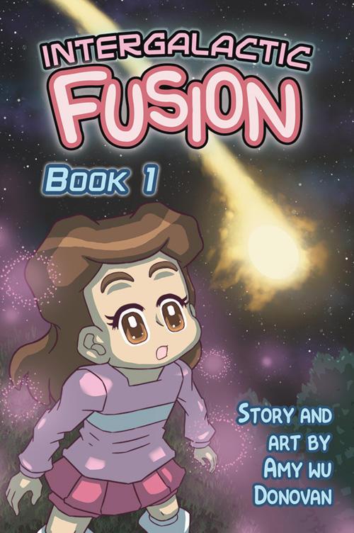 Intergalactic Fusion Book 1 - Cover Page