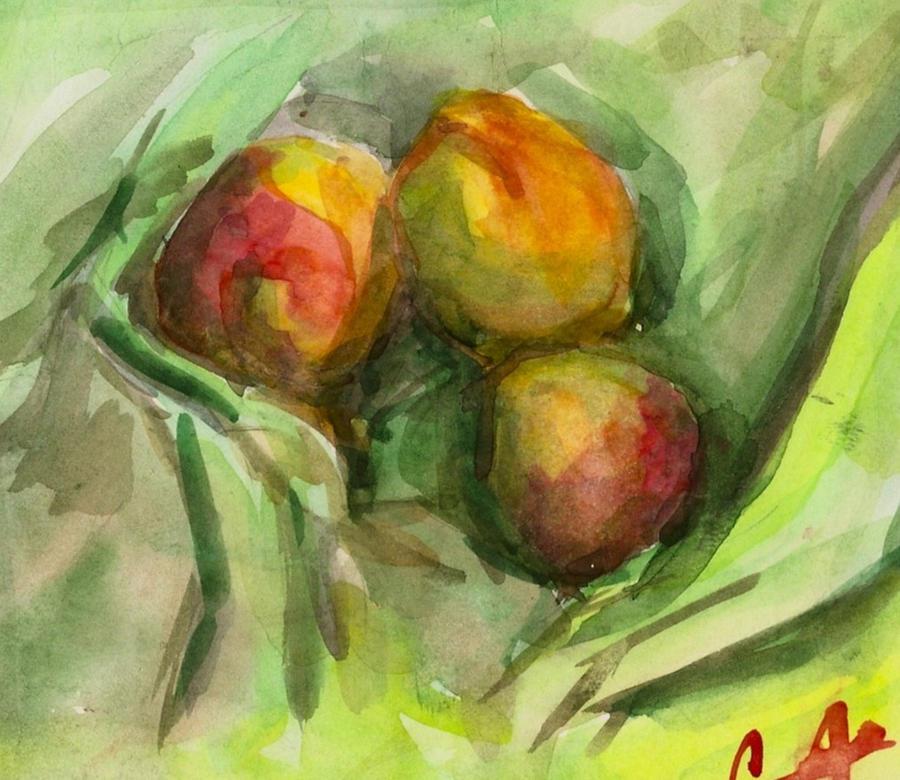 Peaches by Chukki-kukki