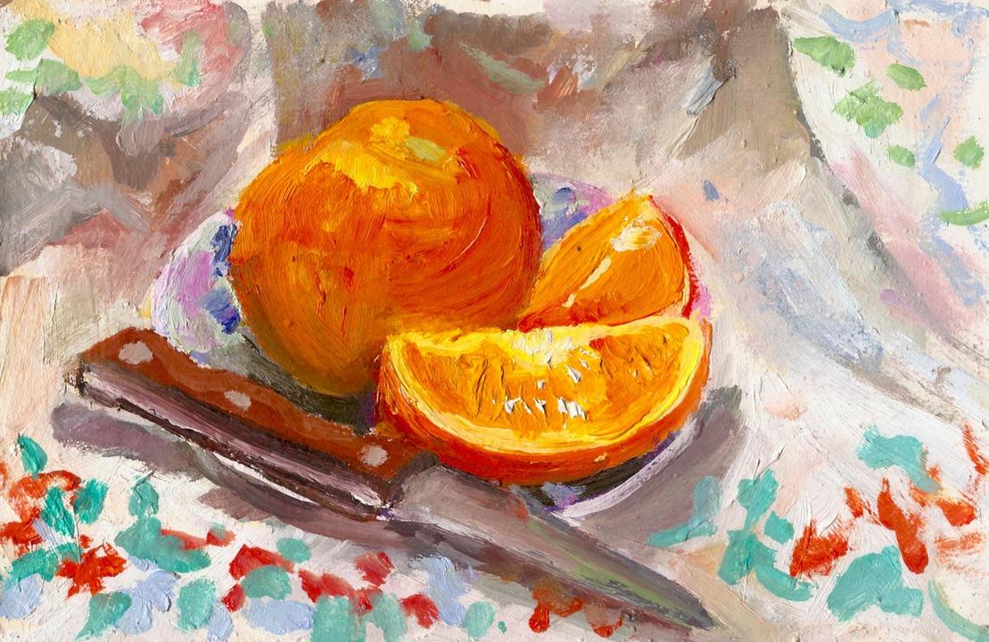 Oranges by Chukki-kukki