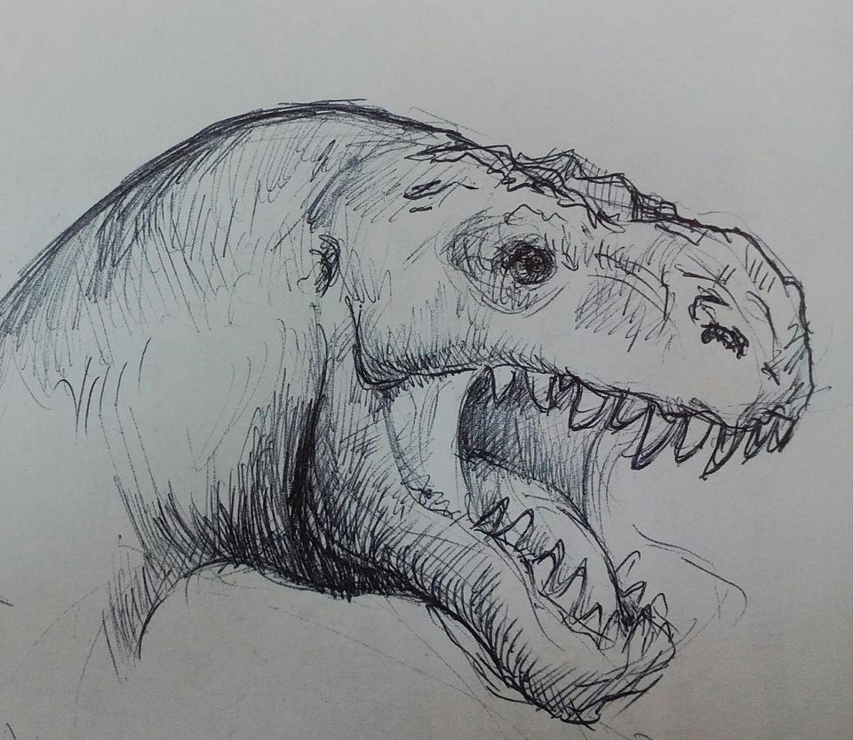 T-Rex by Chukki-kukki