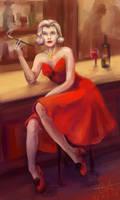 Noir Lady by Chukki-kukki