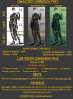COMMISSION [open] price list by Chukki-kukki