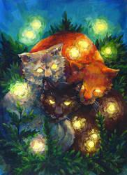 Mysterious kitties