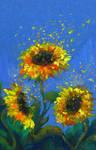 Sparckle flowers by Chukki-kukki