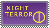 Night Terror Simple Stamp by SecondQuill
