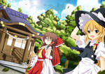 Let's visit hakurei shrine!