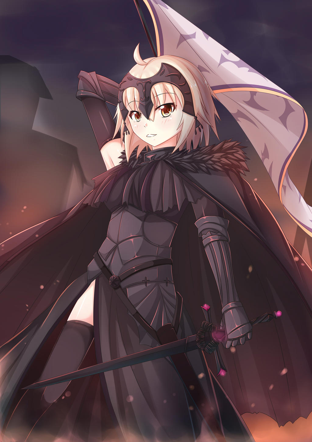 jeanne alter by armenci on deviantart