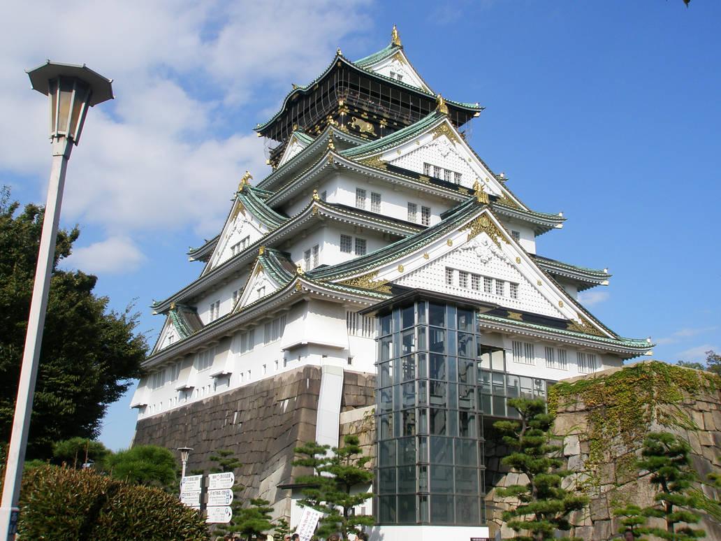 Osaka Castle 8 Deviant Art By Deadpoolme2 On Deviantart