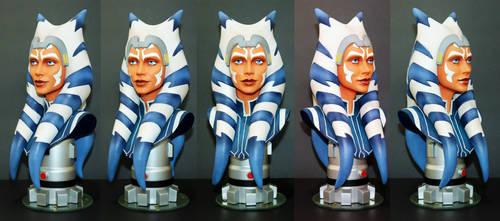 Ahsoka Tano: Star Wars Legends in 3D No.1