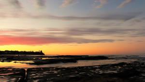 Shelly Beach at dusk 2