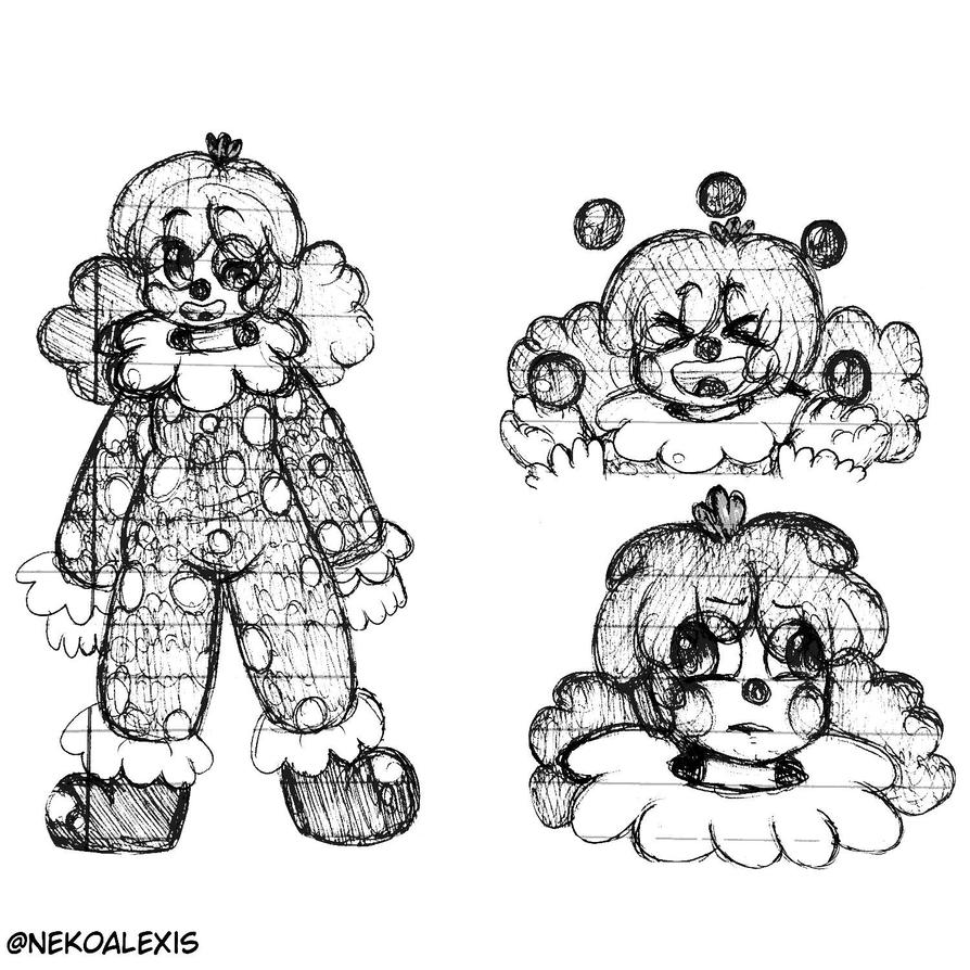 clown design  by Camer09