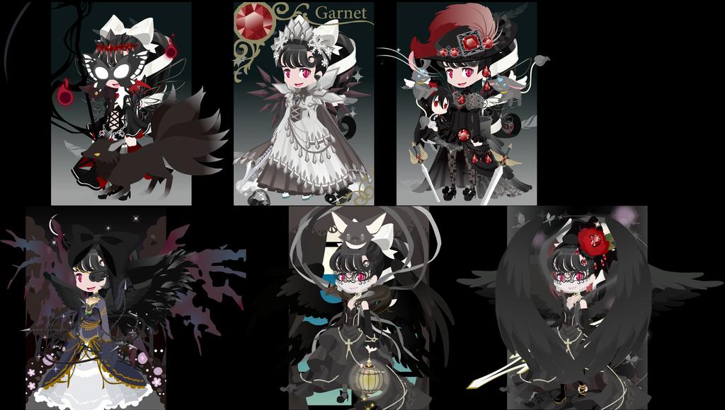 Gentle Dark Black Diamond Shadowauria by UltimateAlexandra1