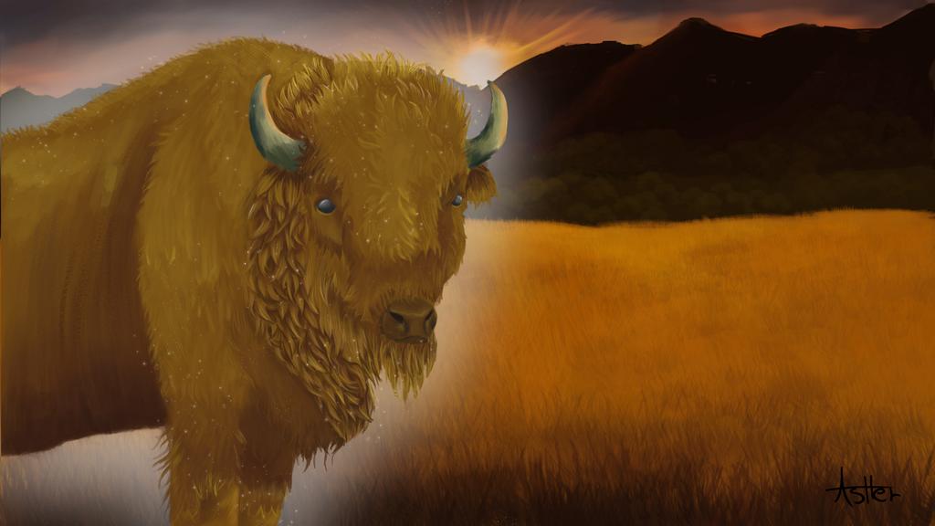 Spirit guide of Wisdom by AsherCypress